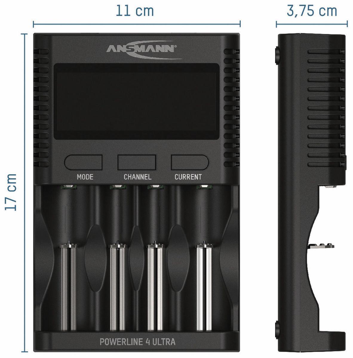 Ladegerät ANSMANN Powerline 4 Ultra online kaufen | Pollin.at