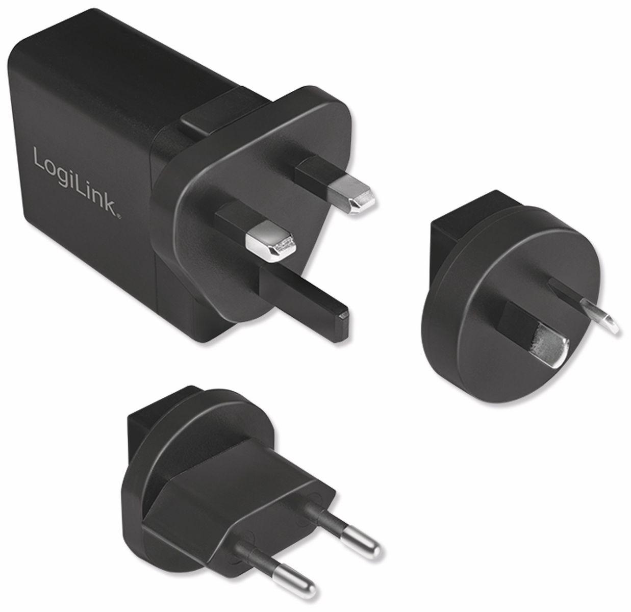 USB Lader,Logilink, PA0131, KFZ, 2 fach, 5 V2,1 A online