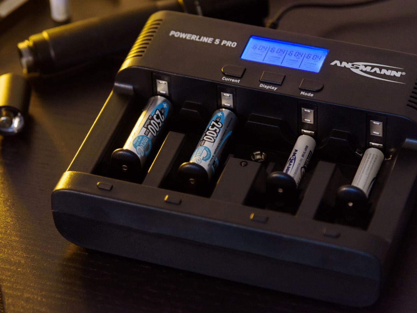 Ladegerät ANSMANN Powerline 5 Pro online kaufen | Pollin.at