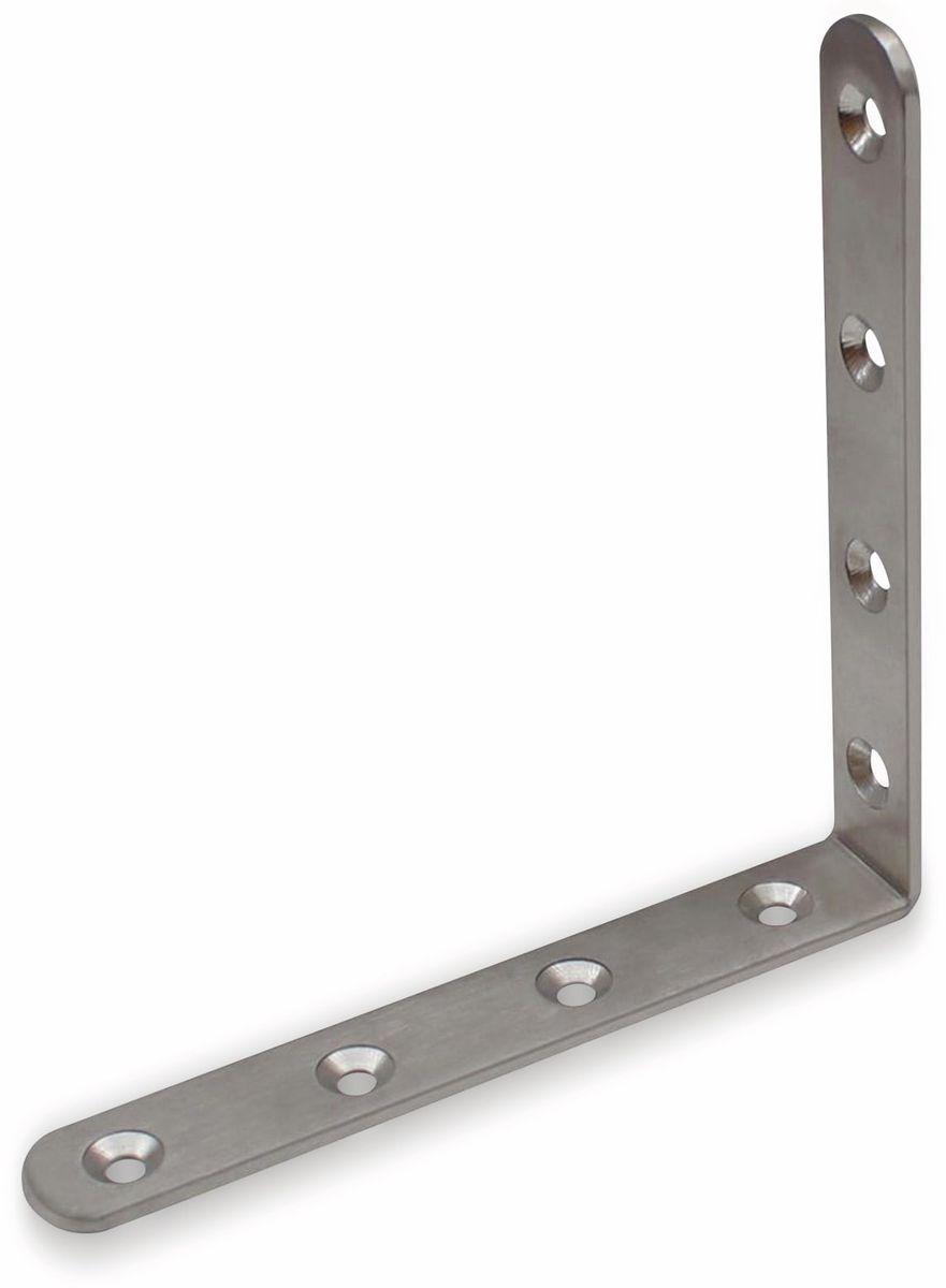 Winkelverbinder Edelstahl 10 Stück 30x30x38 mm