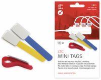Vorschau: Klett-Kabelbinder LTC MINI, verschiedene Farben, 10 Stück