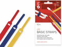 Vorschau: Klett-Kabelbinder LTC BASIC, verschiedene Farben, 10 Stück