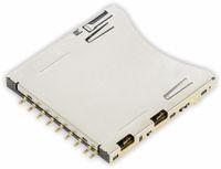 Vorschau: SD Speicherkarten-Sockel ATTEND 104H-TDA0-R
