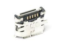 Vorschau: Micro-USB Buchse FCI, Typ B, Version 2.0, SMD, 90° Winkel