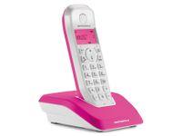 Vorschau: DECT-Telefon MOTOROLA STARTAC S1201, pink
