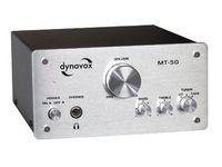 Vorschau: Mini-HiFi-Verstärker DYNAVOX MT-50, silber