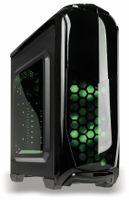Vorschau: PC-Gehäuse KOLINK Aviator, Midi-Tower, schwarz/grün