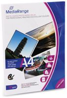 Vorschau: Fotopapier MEDIARANGE, DIN A4, 120 g/m², matt, für Laserdrucker