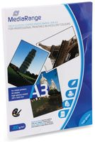 Vorschau: Fotopapier MEDIARANGE, DIN A3, 200 g/m², hochglanz