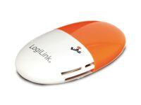 Vorschau: USB 2.0 Cardreader LOGILINK CR0029 Smile