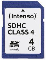 Vorschau: SDHC Card INTENSO, 4 GB, Class 4