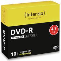 Vorschau: DVD-R INTENSO Slim Case (bedruckbar)