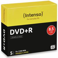 Vorschau: DVD+R Intenso Jewel Case (DoubleLayer)