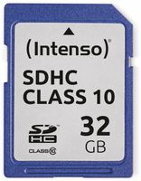 Vorschau: SDHC Card INTENSO 3411480, 32 GB, Class 10