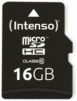 Vorschau: MicroSDHC Card INTENSO 3413470, 16 GB