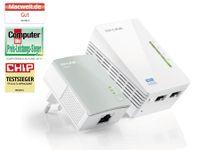 Vorschau: Powerline-Kit mit WLAN-Extender TP-LINK TL-WPA4220KIT