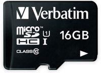 Vorschau: MicroSDHC Card VERBATIM 44010, 16 GB