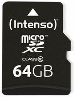 Vorschau: MicroSDXC Card INTENSO 3413490, 64 GB