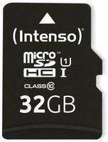 Vorschau: MicroSDHC Card INTENSO 3423480, UHS-I, 32 GB