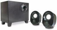 Vorschau: 2.1 Stereo-Lautsprecher LOGILINK SP0045, schwarz