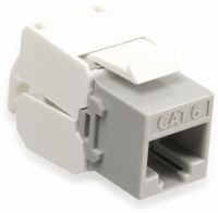 Vorschau: Einbau-Modul Red4Power KM-C6U-G, CAT.6, grau