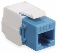 Vorschau: Einbau-Modul Red4Power KM-C6U-B, CAT.6, blau