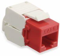 Vorschau: Einbau-Modul Red4Power KM-C6U-R, CAT.6, rot