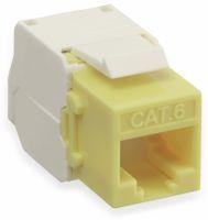 Vorschau: Einbau-Modul Red4Power KM-C6U-Y, CAT.6, gelb