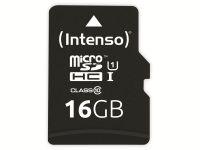 Vorschau: microSDHC Card INTENSO 3433470, 16 GB