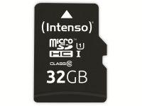 Vorschau: microSDHC Card INTENSO 3433480, 32 GB