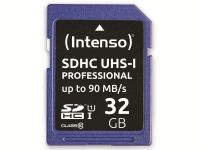 Vorschau: SDHC Card INTENSO 3431480, 32 GB, Class 10, UHS-I