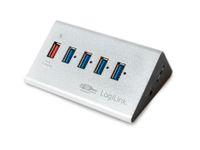 Vorschau: USB 3.0-Hub LOGILINK UA0227, 4-port, aktiv