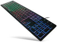Vorschau: USB-Tastatur beleuchtet LogiLink ID0138, schwarz