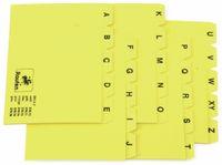 Vorschau: Karteiregister STAUFEN 27671, DIN A7, gelb