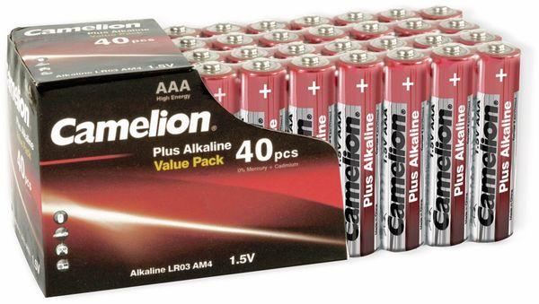 Micro-Batterie-Set CAMELION Plus Alkaline, 40 Stück
