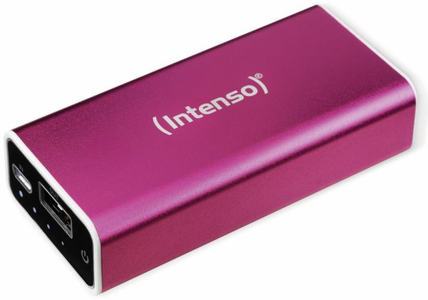 USB Powerbank INTENSO 5200 mAh, pink
