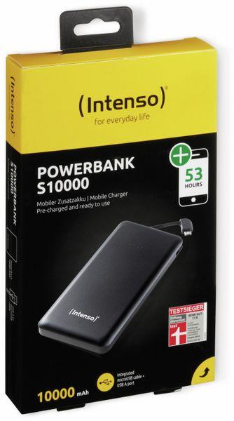 USB Powerbank INTENSO 7332530 Slim S10000, 10000 mAh, schwarz - Produktbild 2