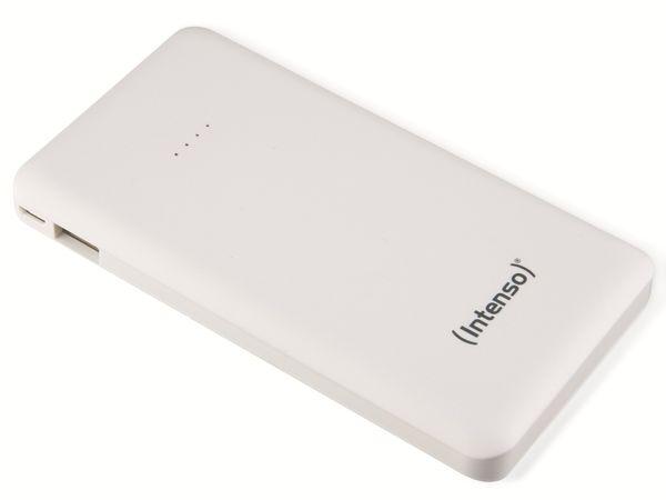 USB Powerbank INTENSO 7332532 Slim S10000, 10000 mAh, weiß