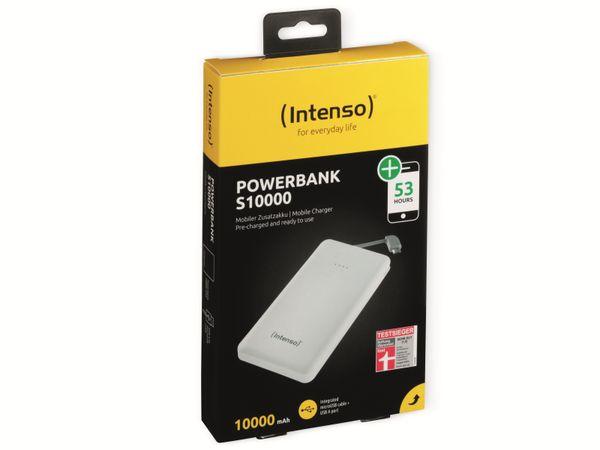 USB Powerbank INTENSO 7332532 Slim S10000, 10000 mAh, weiß - Produktbild 2