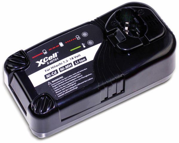 Ladegerät XCELL für Hitachi 7,218 V , Ni CdNi MHLi Ion Werkzeugakkus
