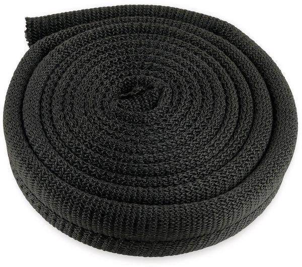 Kabel-Schlauch LTC CABLE TUBE, 2m, schwarz - Produktbild 3