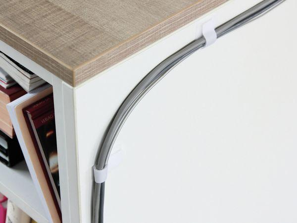 Klett-Kabelbinder LTC WALL STRAPS, weiß, 10 Stück - Produktbild 6