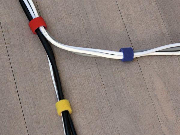 Klett-Rolle LABEL THE CABLE Roll Strap, 4x 100 cm, 16 mm, bunt - Produktbild 5