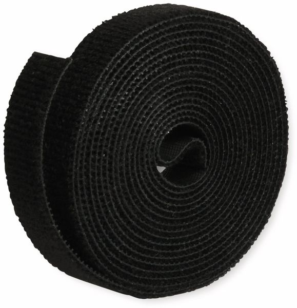 Klett-Rolle LABEL THE CABLE Roll Strap, 3 m, 16 mm, schwarz - Produktbild 3