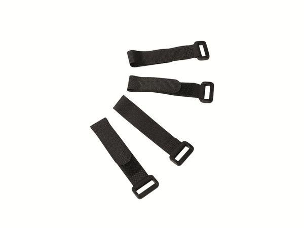 Klett-Kabelbinder LOGILINK KAB0056, 150x20 mm, schwarz, 10 Stück - Produktbild 2