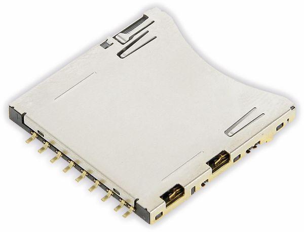 SD Speicherkarten-Sockel ATTEND 104H-TDA0-R