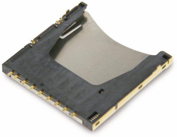 SD Speicherkarten-Sockel ATTEND 104H-TDA0-R - Produktbild 2