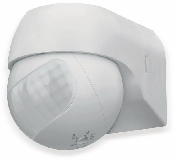 Bewegungsmelder SONERO X-IMS080, 180°, IP44, schwenkbar, weiß