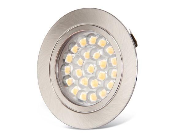 LED-Einbauleuchte DAYLITE PLS-61EW, 12 V-/1,8 W, 3000 K - Produktbild 1