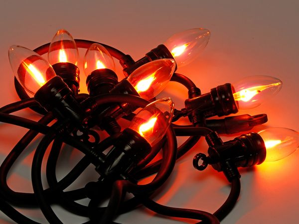 Lichterkette Flamme, 14,5W, B-Ware - Produktbild 2